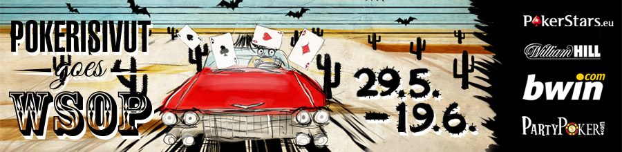 Pokerisivut goes WSOP 2013 - Pokerisivut