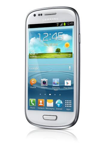 Samsung Galaxy S III Mini NFC (i8190) Android älypuhelin, valkoinen
