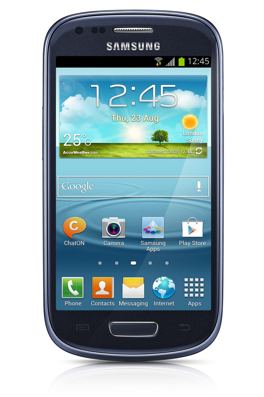 Samsung Galaxy S III Mini NFC (i8190) Android älypuhelin, sininen