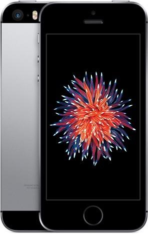 Apple iPhone SE 16 Gt ‐puhelin, tähtiharmaa