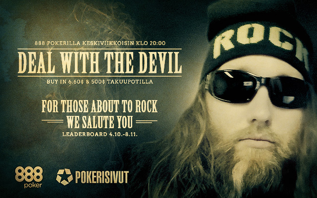 Deal with the Devil: For those about to rock -Leaderboard