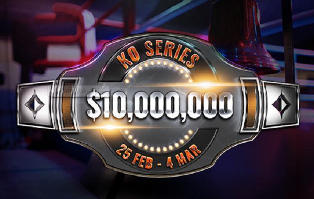 Rakechase KO Series #38 $1M GTD championship eventtiin