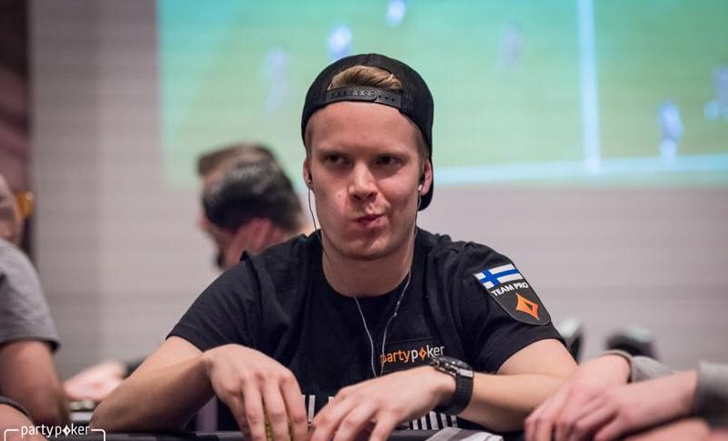 Joni Jouhkimainen PartyPokerin turnauksessa