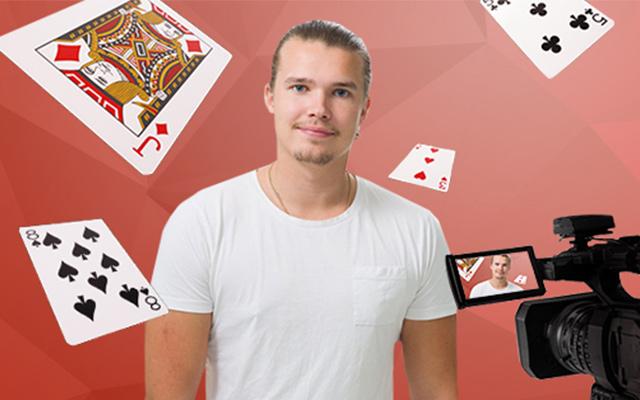 Henri Koivisto Pokerisivujen Twitch kanavalla 27.1.