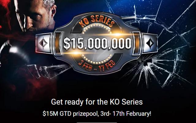 PartyPokerin KO Series 3.-17.2.2019!
