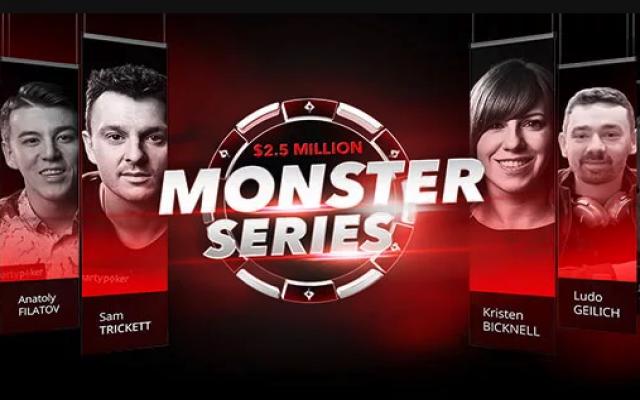 PartyPoker: Monster Series turnaussarja 10. - 17.3.2019