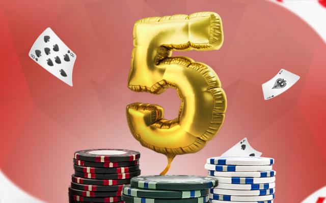 Pokerihuone: 15000 euron pokerisynttärit!
