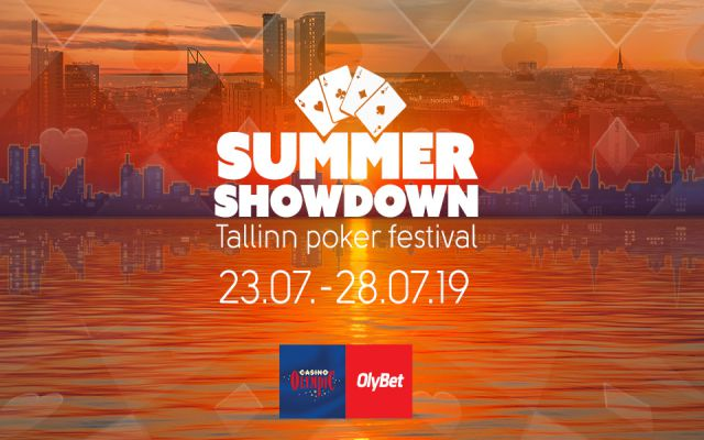 Pokerisivujen leaderboard Tallinn Summer Showdowniin OlyBetillä!