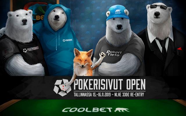 Pokerisivut Open Tallinnassa 15.-16.11.2019