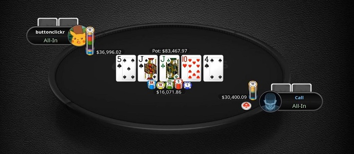 PokerStarsin nimimerkki Buttonclickr haastattelussa