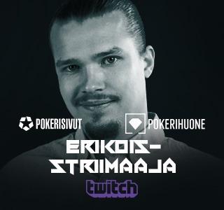 Henri Koivisto, suomalainen Omaha-pelaaja ja Pokerisivut.comin striimaaja